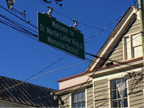 What is the MLK District in Charleston, SC