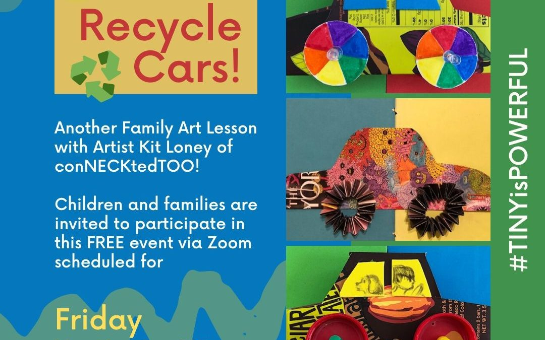 Family Art Lessons with Kit Loney: Recycle Cars with Color Wheels