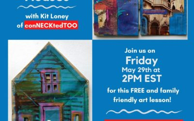 Family Art Lessons with Kit Loney: Tiny Houses