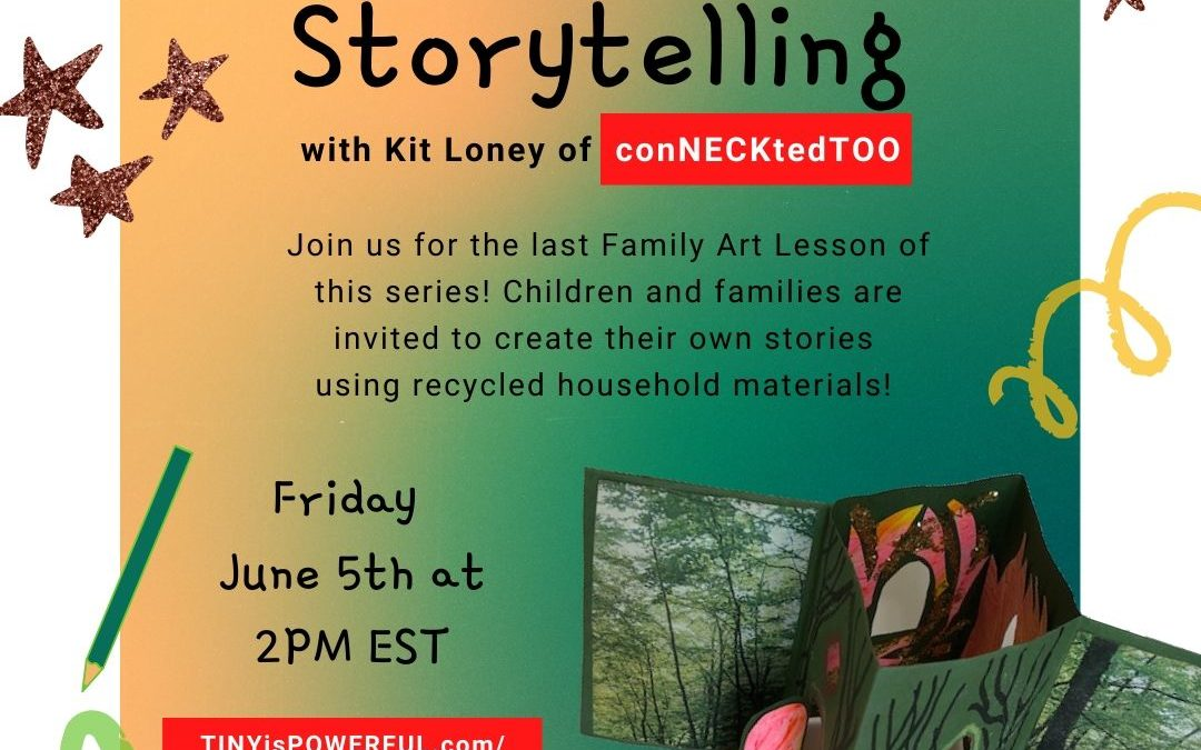 Family Art Lessons with Kit Loney: Storytelling